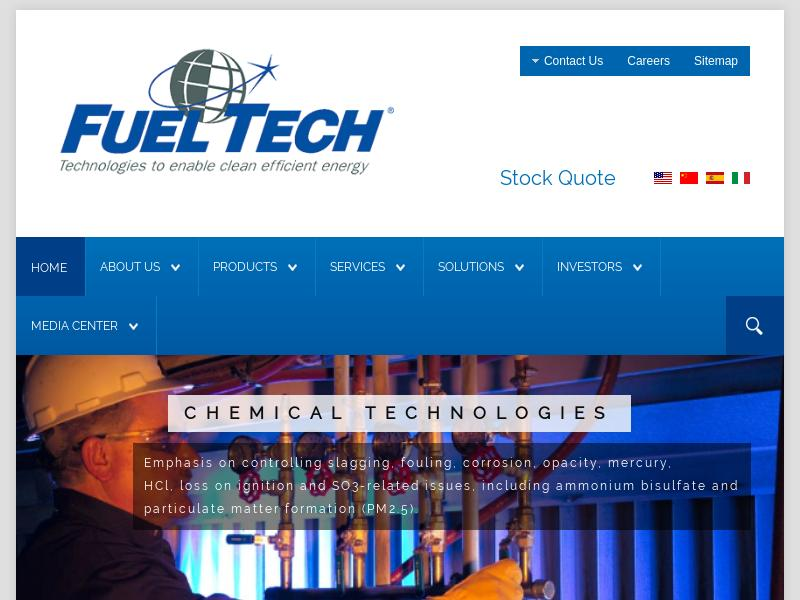 A Day Up For Fuel Tech, Inc.