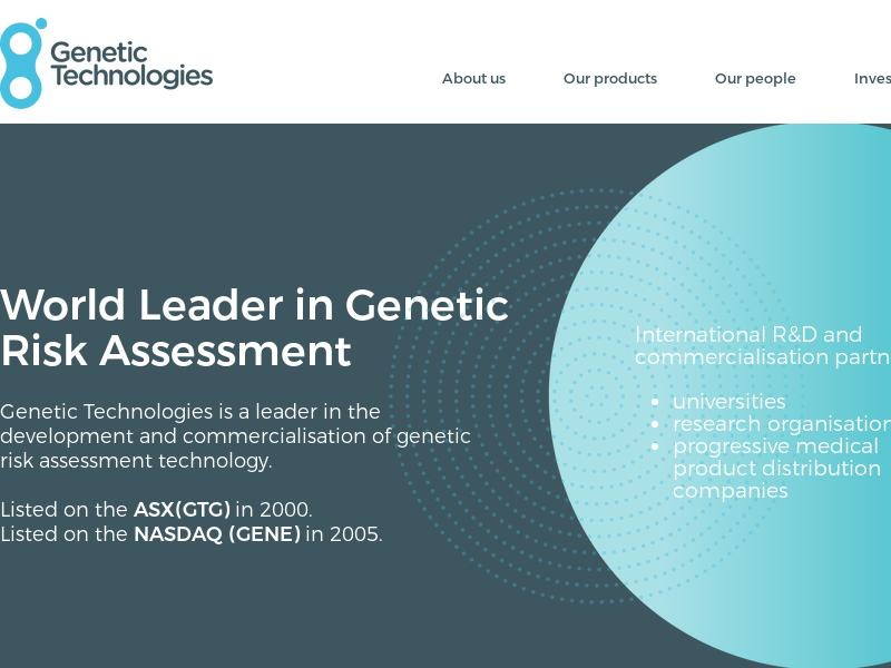 Genetic Technologies Limited Skyrocketed