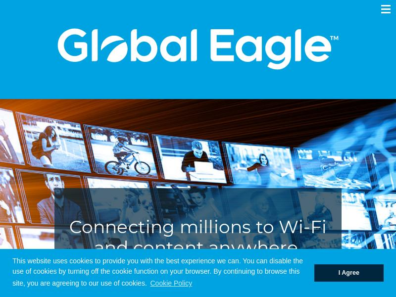 Global Eagle Entertainment Inc. Made Big Gain