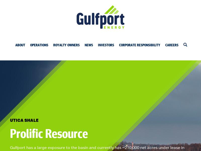 Gulfport Energy Corporation Gains 24.18%
