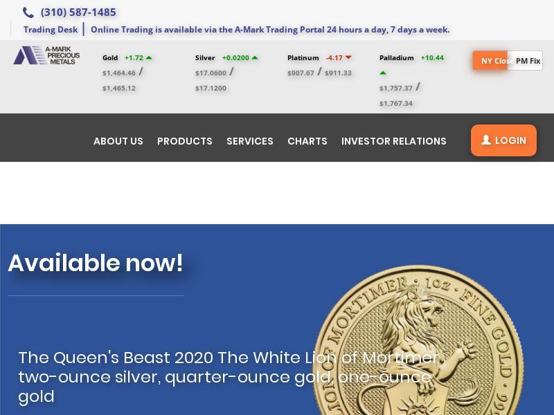 Big Gain For A-Mark Precious Metals, Inc.