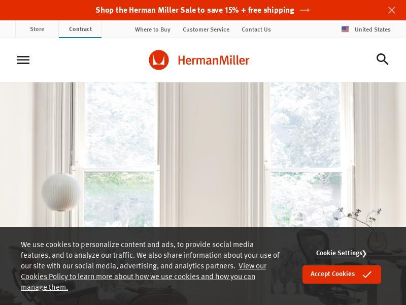 Herman Miller, Inc. Skyrocketed