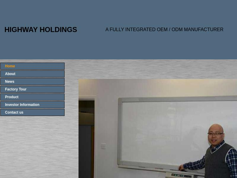 Highway Holdings Limited Gains 36.88%
