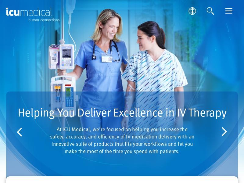 Big Move For ICU Medical, Inc.