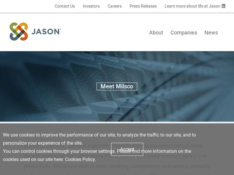 Big Gain For Jason Industries, Inc.