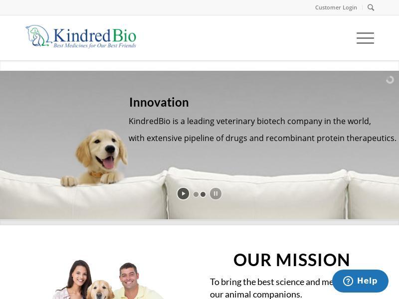 Big Move For Kindred Biosciences, Inc.