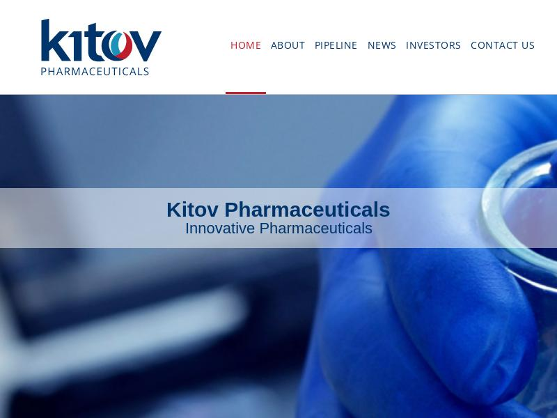 Kitov Pharma Ltd Made Headway