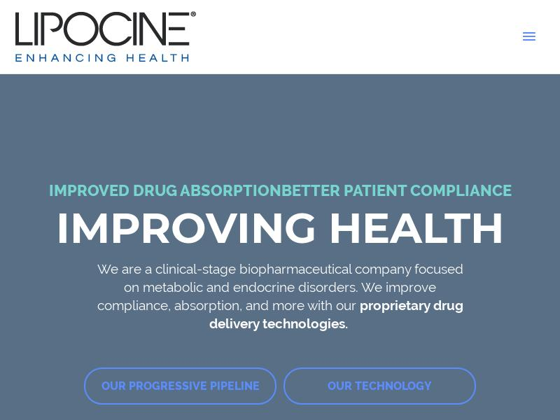 Big Move For Lipocine Inc.