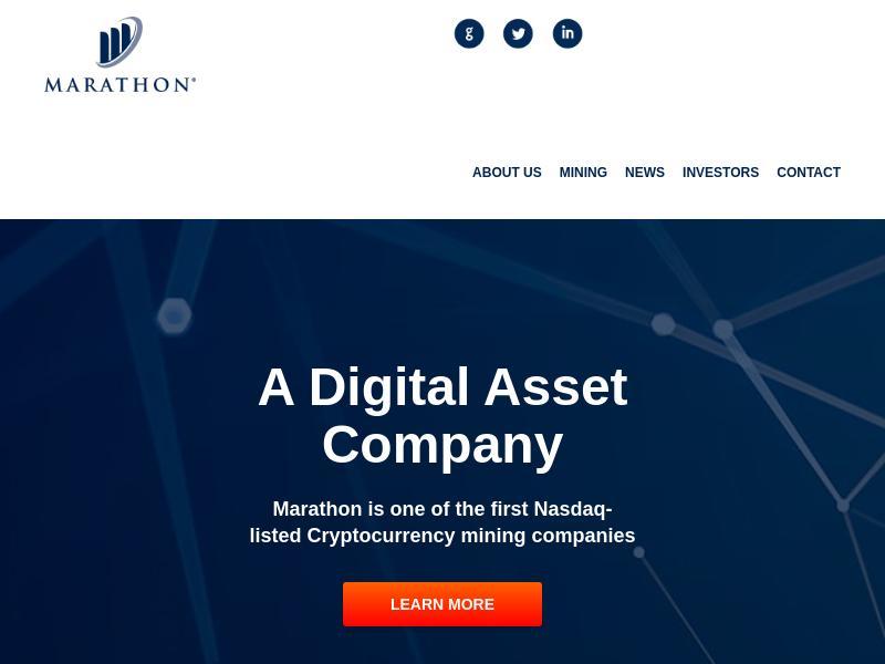 Marathon Patent Group, Inc. Skyrocketed