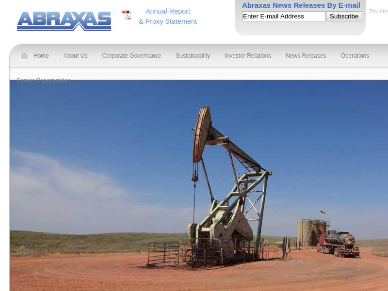 Abraxas Petroleum Corporation Gains 122.91%