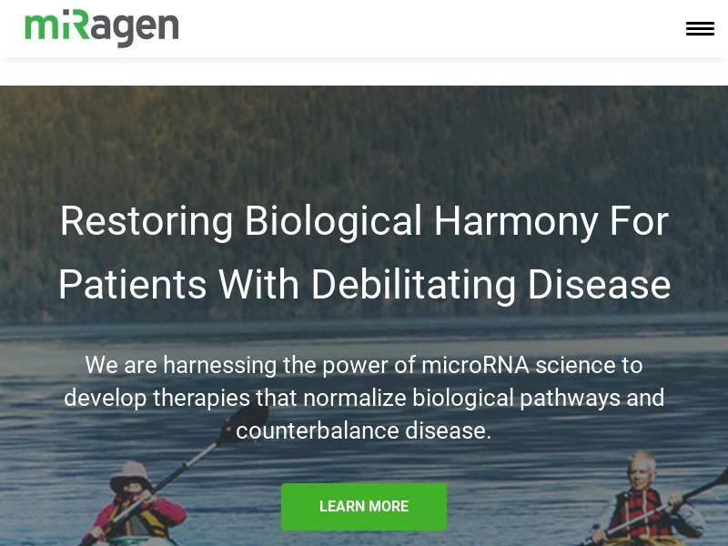 Miragen Therapeutics, Inc. Gains 26.35%
