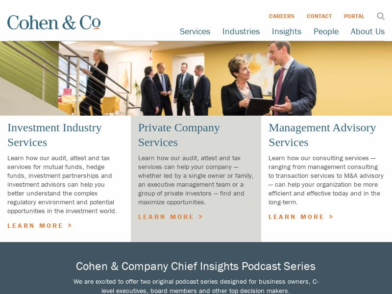 Cohen & Company Inc. Soared