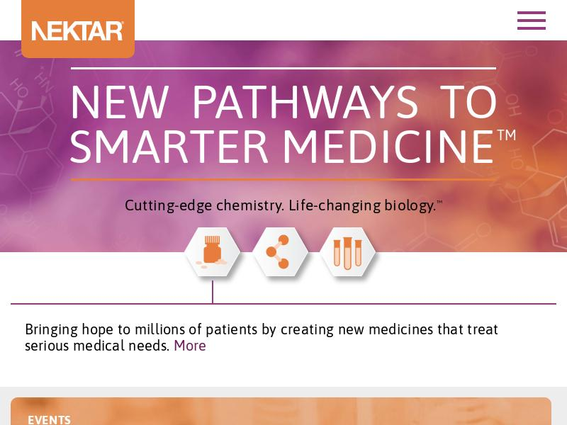 Nektar Therapeutics Made Big Gain