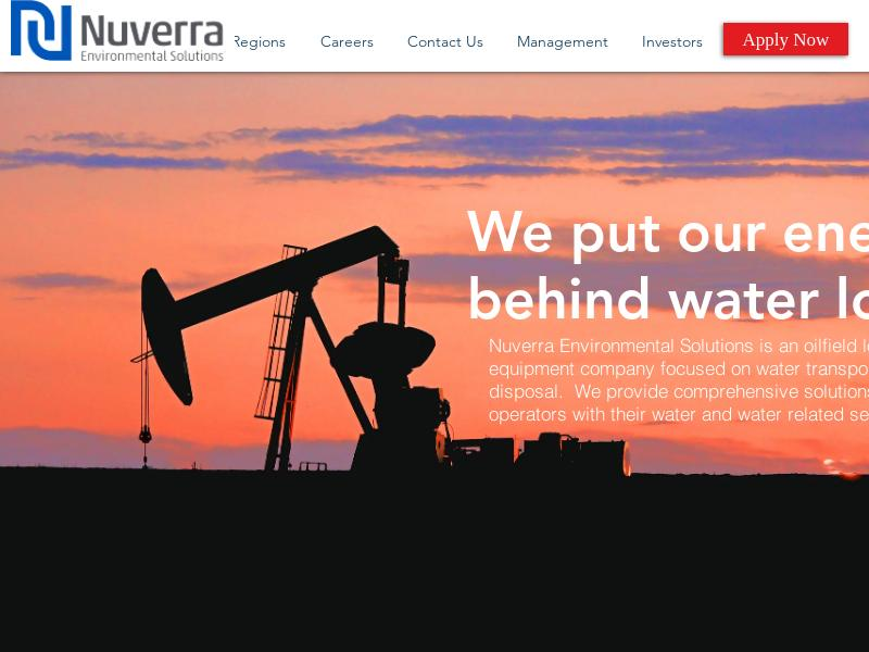 Nuverra Environmental Solutions, Inc. Soared