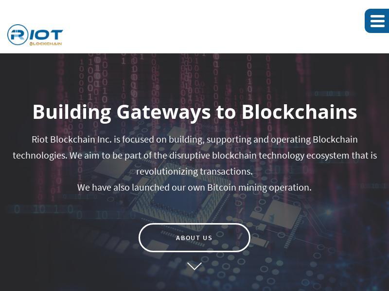 Riot Blockchain, Inc. Gains 48.41%