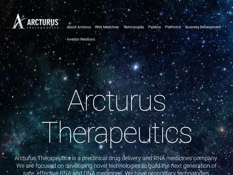 Arcturus Therapeutics Holdings Inc. Gains 24.02%
