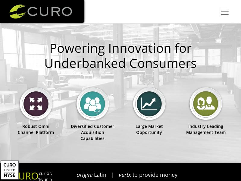 A Win For CURO Group Holdings Corp.