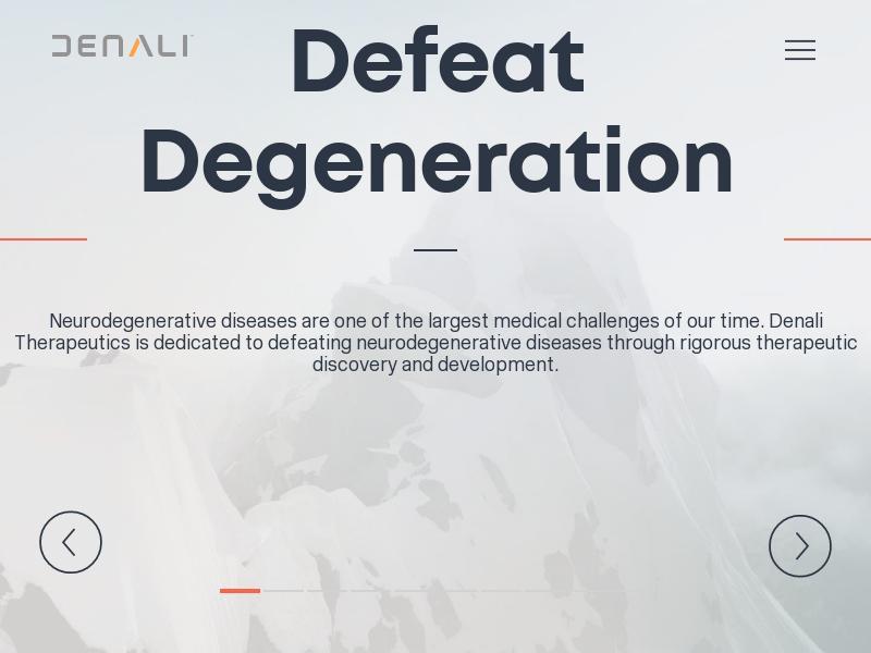 Big Move For Denali Therapeutics Inc.