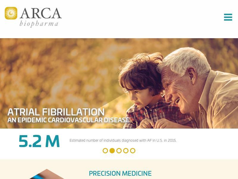 Big Gain For ARCA biopharma, Inc.