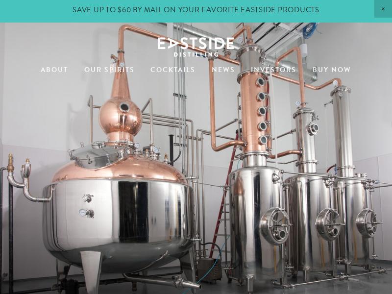 Eastside Distilling, Inc. Soared