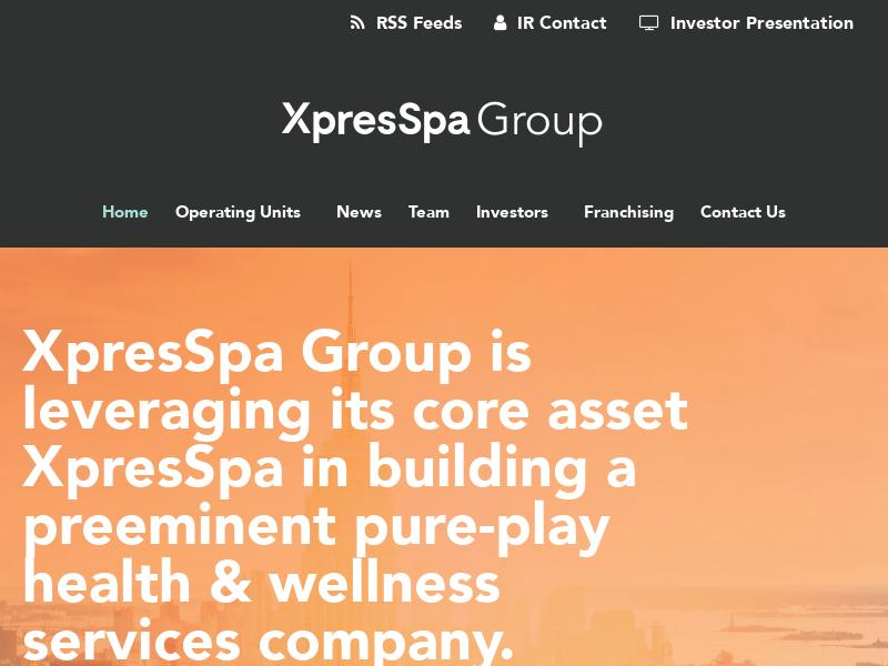 Big Move For XpresSpa Group, Inc.