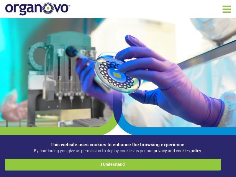 Organovo Holdings, Inc. Recorded Big Gain