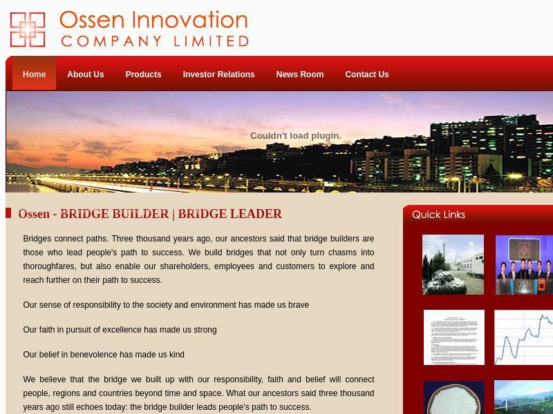 Ossen Innovation Co., Ltd. Skyrocketed