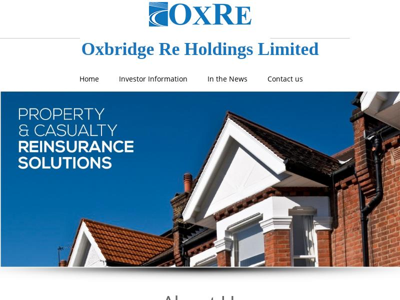 Oxbridge Re Holdings Limited Recorded Big Gain