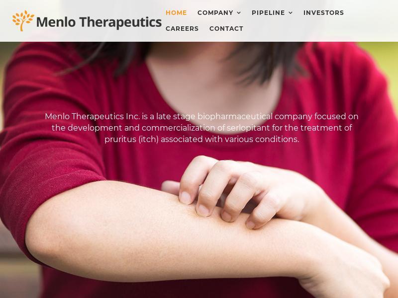 A Win For Menlo Therapeutics Inc.