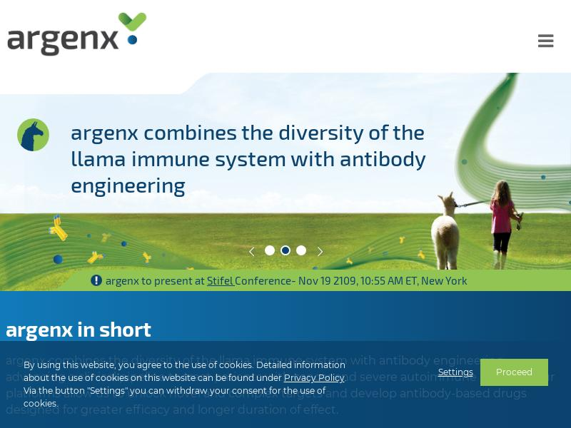 Big Gain For argenx SE