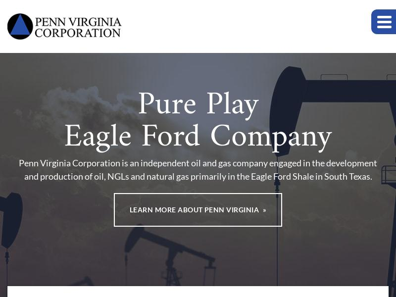 Penn Virginia Corporation Soared