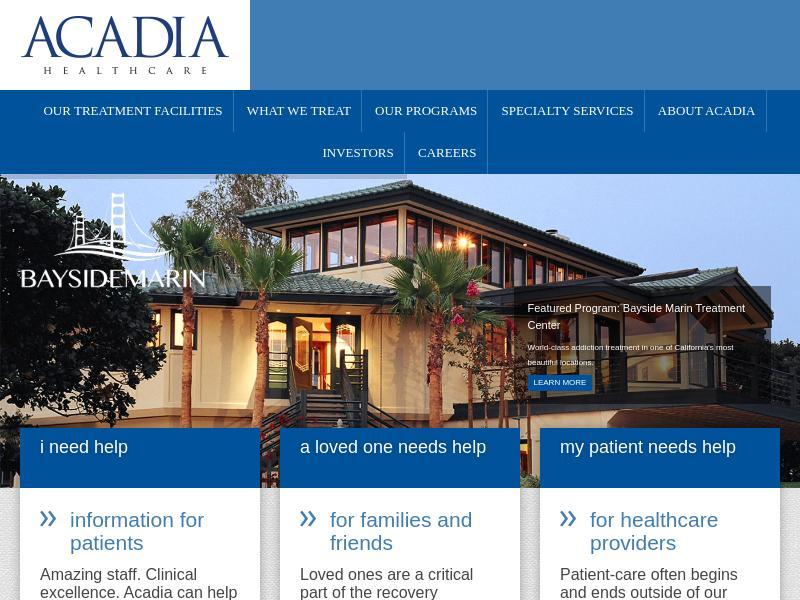 Acadia Healthcare Company, Inc. Gains 23.02%