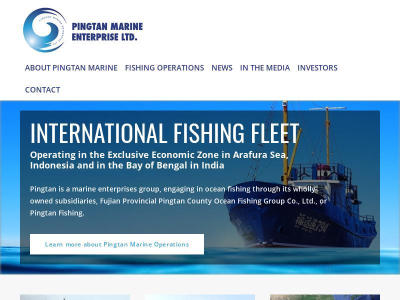 Pingtan Marine Enterprise Ltd. Made Headway