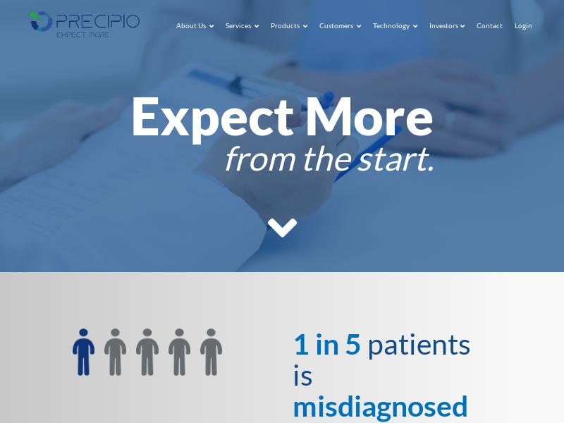 Precipio, Inc. Made Big Gain