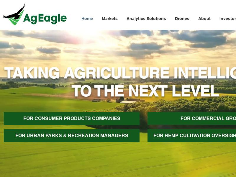 AgEagle Aerial Systems, Inc. Soared