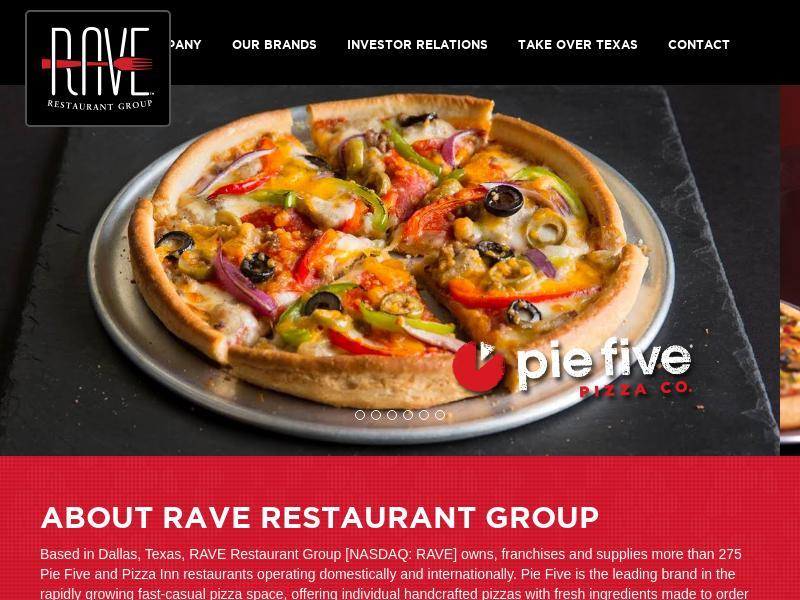 RAVE Restaurant Group, Inc. Made Big Gain