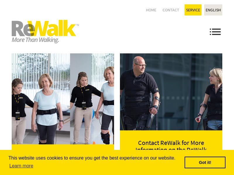 ReWalk Robotics Ltd. Recorded Big Gain
