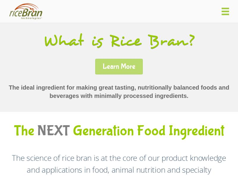 RiceBran Technologies Gains 26.88%