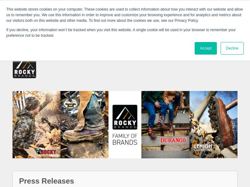 A Win For Rocky Brands, Inc.