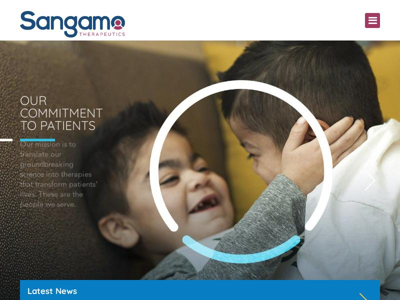 Sangamo Therapeutics, Inc. Gains 52.98%