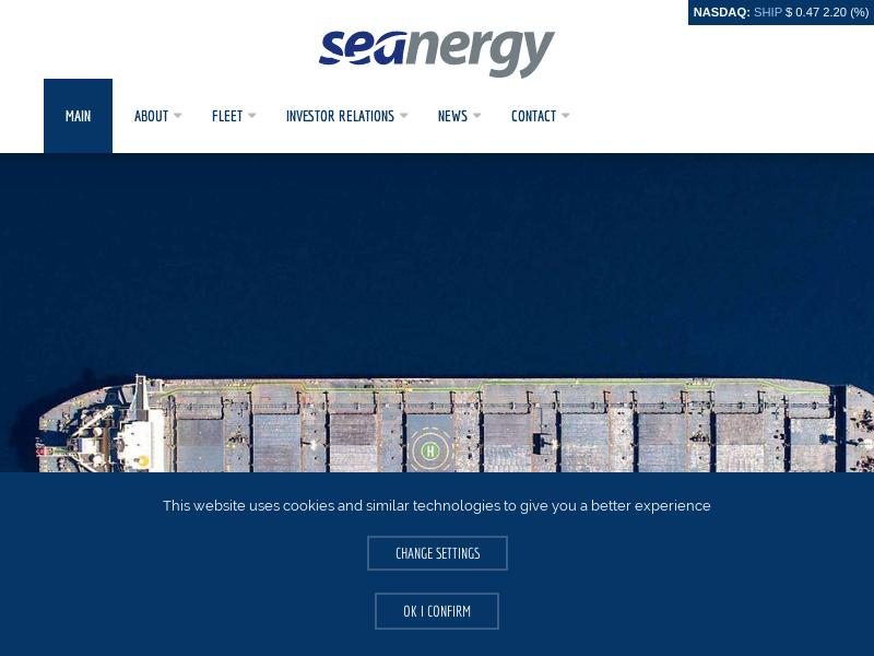 Seanergy Maritime Holdings Corp. Gains 31.13%