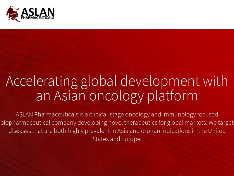 ASLAN Pharmaceuticals Limited Recorded Big Gain