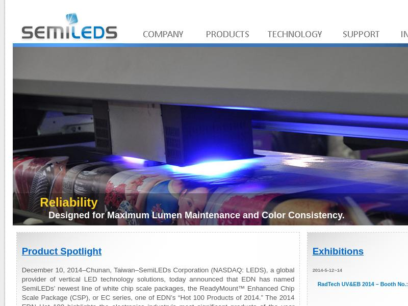 A Day Up For SemiLEDs Corporation