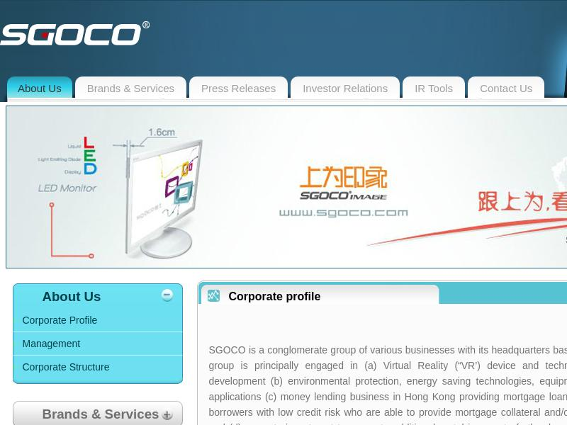 A Day Up For SGOCO Group, Ltd.