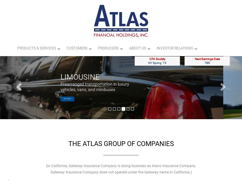 Atlas Financial Holdings, Inc. Made Headway