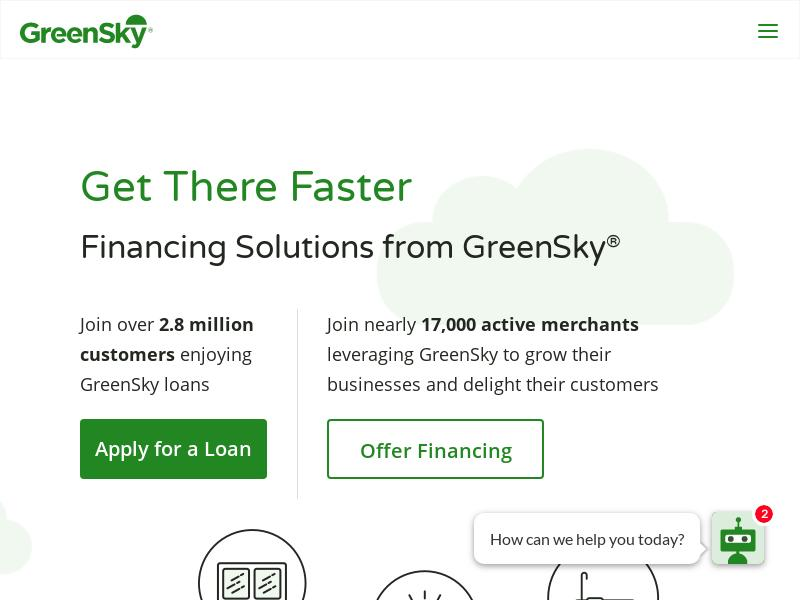 A Day Up For GreenSky, Inc.
