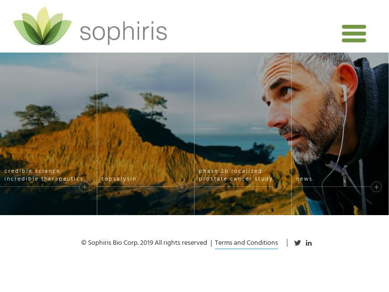 Big Move For Sophiris Bio, Inc.