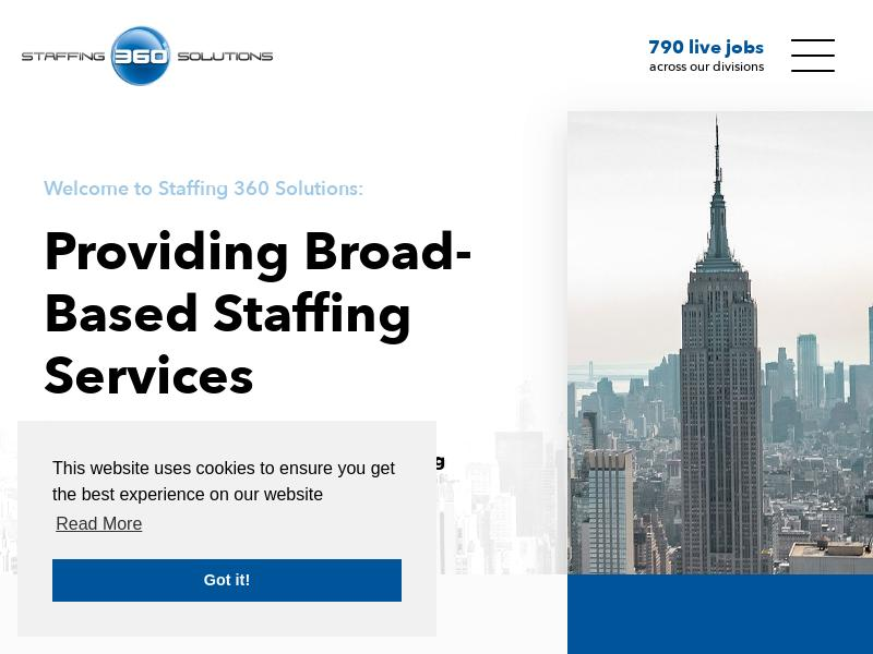 A Day Up For Staffing 360 Solutions, Inc.