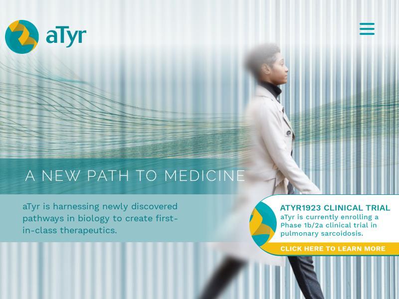 A Win For aTyr Pharma, Inc.
