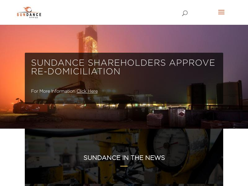 Big Move For Sundance Energy, Inc.